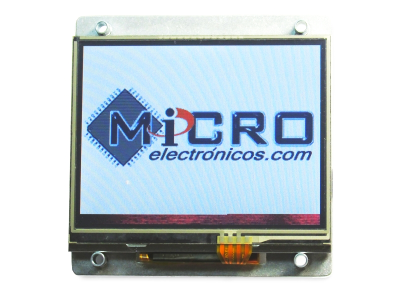 Arduino con TouchScreen a Color