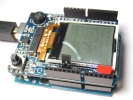 Shield Display LCD Monocromatico Rev 2 para Arduino